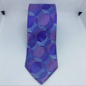 Ted baker London purple/blue neck tie